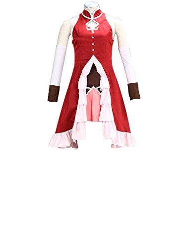 Mtxc Women's Puella Magi Madoka Magica Cosplay Costume Sakura Kyoko 1st Size XX-Small Red