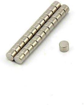 Magnet Expert - Imanes circulares para manualidades (neodimio, grado N42, 4 x 3 mm, 0,45 kg, 25 unidades): Amazon.es: Bricolaje y herramientas