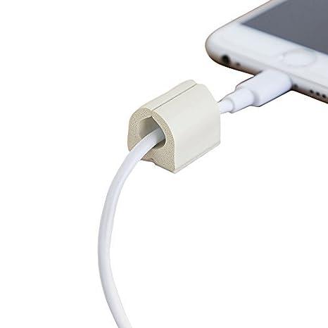 Ut Wire utw-9d12-wh pequeño clip de cable, se puede pintar)