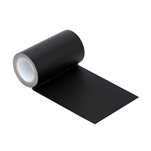 Onine Leather Repair Tape Patch Leather Adhesive for Sofas, Car Seats, Handbags,First Aid Patch, Jackets(Black)