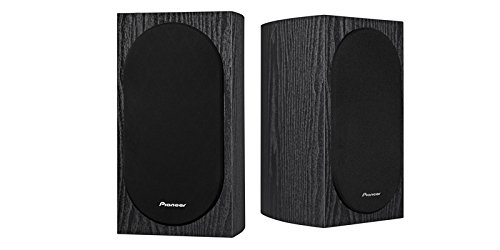 "Pioneer SP-BS22-LR Andrew Jones Designed Bookshelf Loudspeakers(7-1/8"" x 12-9/16"" x 8-7/16"" & weighs 9 lbs 2 oz) by Pioneer"
