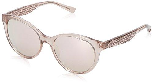 Lacoste Women's L831S Oval Sunglasses, Rose, 53 ()