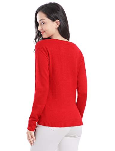 Christmas Sweater Tunic Knit Sweaters