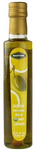 Mantova Organic Extra Virgin Olive Oil Lemon -- 8.5 fl oz - 2 pc