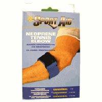Sportaid, Tennis Elbow Brace, Neoprene Support, Blue, Universal - 1 Each - Universal Tennis Elbow Neoprene Strap