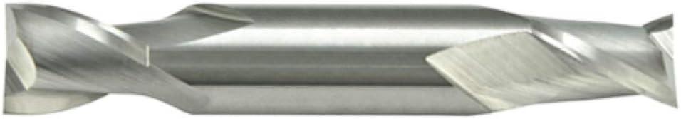 Alfa Tools DEC66855 1//2 x 1//2 2 Flute Stub Double Carbide End Mill