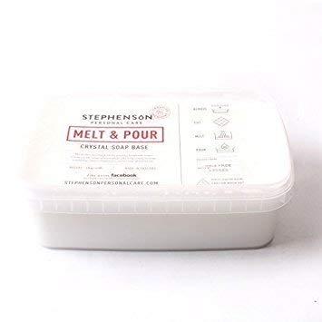 Base de jabón para mezclar y verter, blanco, sin sulfatos, 2 kg: Amazon.es: Belleza