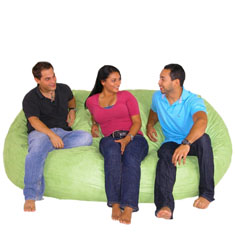 Cozy Sack Bean Bag Chair - Extra Large 7'