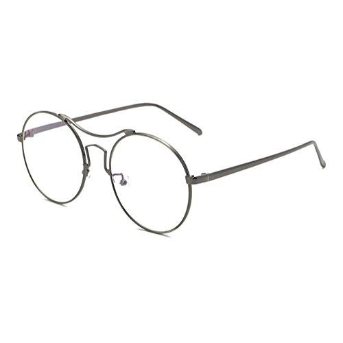 e5cf304fec Anti gafas de luz azul claro gafas lente Geek / Nerd gafas retro marco para  hombres