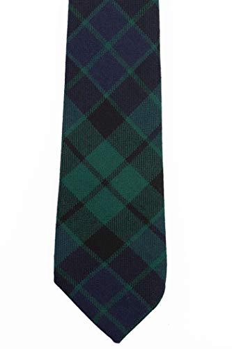 MacKay Modern Tartan Wool Necktie USA Kilts