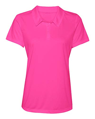 Animal Den Women's Dry-Fit Golf Polo Shirts 3-Button Golf Polo's in 20 Colors XS-3XL Shirt ()