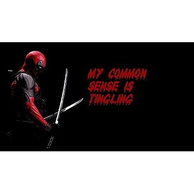 Deadpool Common Sense Tingling Playmat: Toys & Games