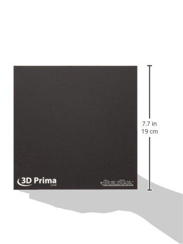 203 x 203 mm 8 x 8 BuildTak 3D Superficie de impresi/ón