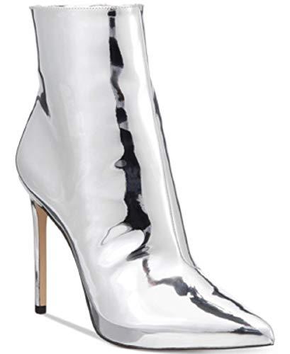 ALDO Women's Loreni Metallic Stiletto Silver 7M