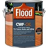FLOOD/PPG ARCHITECTURAL FIN FLD466-01 CWF-UV5 Gallon Cedar Premium Penetrating Wood Finish by Ppg Architectural Fin/Flood