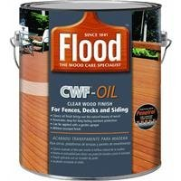 Standard Fin (FLOOD/PPG ARCHITECTURAL FIN FLD466-01 CWF-UV5 Gallon Cedar Premium Penetrating Wood Finish by Ppg Architectural)