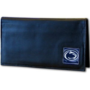 Siskiyou NCAA Penn State Nittany Lions Leather Checkbook Cover