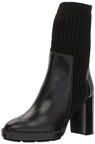 Aquatalia Women's Imogen Calf/Sweater, Black, 7.5 M M US