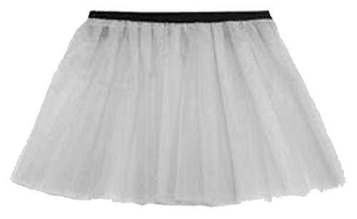 REAL LIFE FASHION LTD... - Jupe - Mini-Jupe - Femme Noir * Taille Unique Blanc