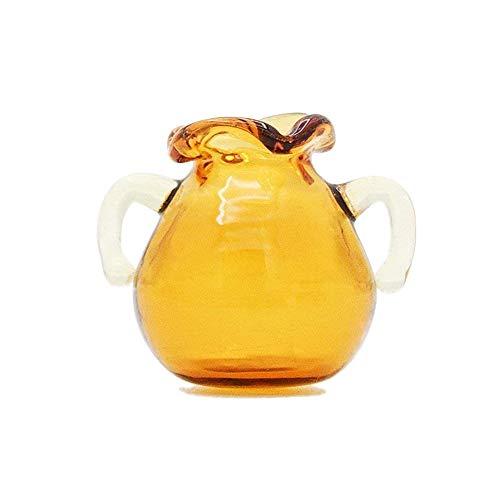 Odoria 1:12 Miniature Glass Pitcher Vase Dollhouse Decoration ()
