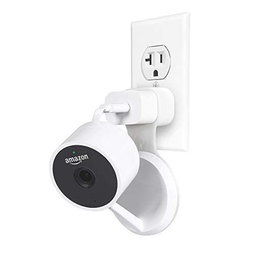 LANMU Wall Mount for Cloud Cam,Outlet Wall Mount Bracket Holder for Amazon Cloud Cam Security Camera with Short USB Cable(White) For Sale