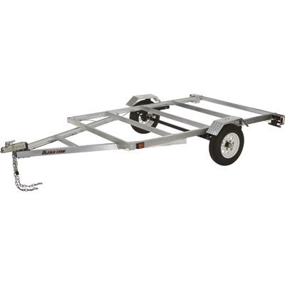 Ultra-Tow 5ft. x 8ft. Aluminum Utility Trailer Kit - 1715-Lb. Load Capacity