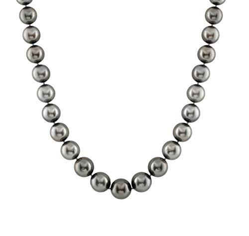 14k Gold 11-13mm Tahitian South Sea Cultured Pearl Necklace - AAA Quality - Pearl Tahitian Necklace Aaa