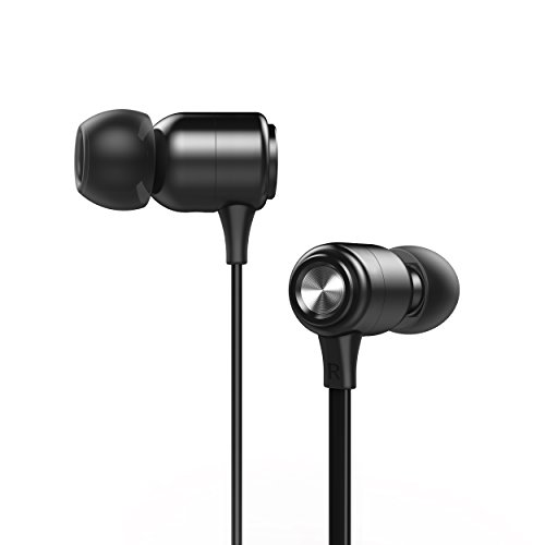 Magnetic Wireless Earbuds Sport Bluetooth Headphones IPX7 Waterproof HD Stereo Sweatproof Earbuds,10 hours Playback Noise Cancelling Headsets (Black)