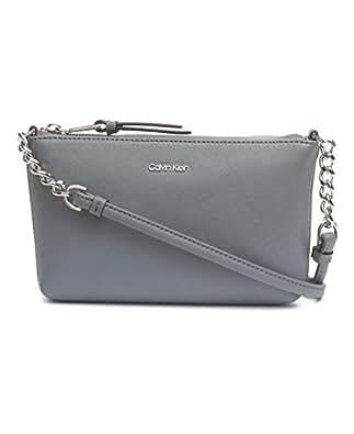 Calvin Klein Women's Hayden Crossbody Bag Hayden Crossbody Bag, Asphalt, One Size