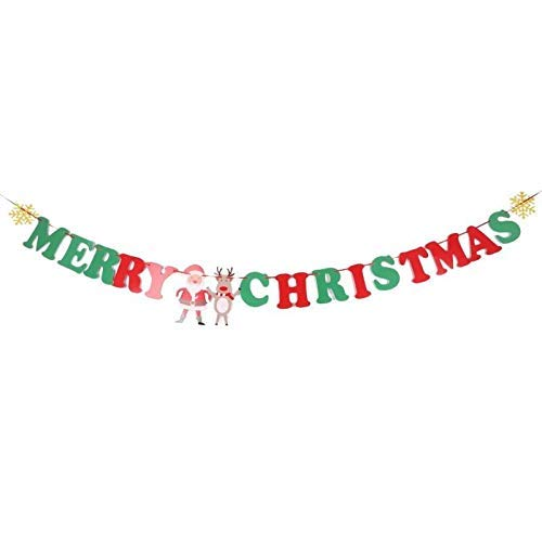 Banners Accessories - Decoration Pull Flag Mall Shop Hanging Banner Party Festival Ornaments Xmas Decor - Banner Party Baby Christmas Pennant Birthday Mint Banner Birthday Star Pennant Birthd (Letter)