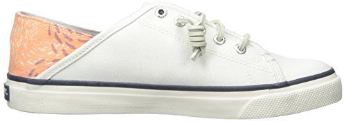 Sperry Donna Basso sider White Top Collo coral A 6qp6xArwX