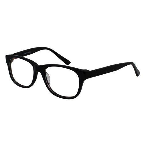 EyeBuyExpress Classic Black Wayfarer Reading Glasses Magnification Strength 0.75 by - Wayfarers Buy Online