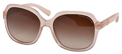Armani Exchange AX 4024S Women's Sunglasses Shifting Sand Milky - Armani Sunglasses Giorgio Exchange