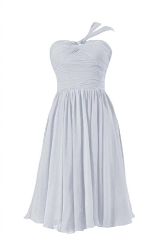 57 Wedding Chiffon DaisyFormals Homecoming Dress BM731S Dress silver Party Short Sweetheart qXxzxpw