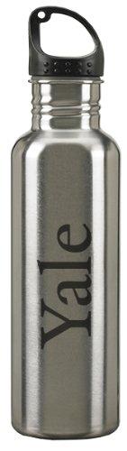 24-ounce Sport Water Bottle Silver LXG Inc Yale University