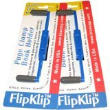 Flipklip Treadmill Book Holder 2-pack by BlueZap