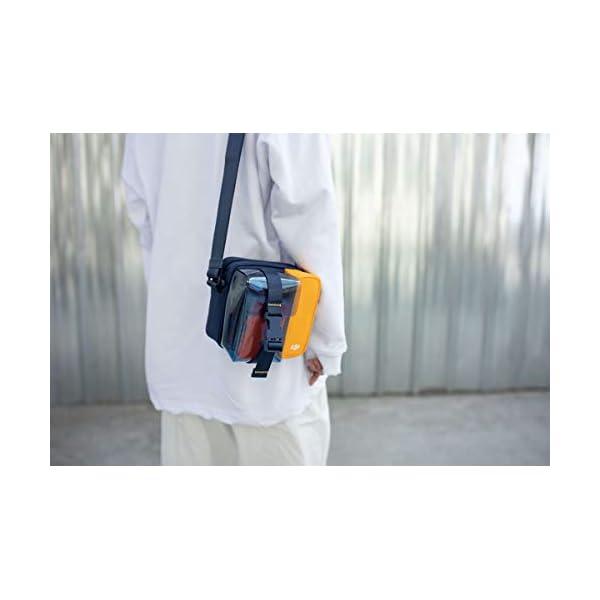 DJI Mavic Mini Bag Borsa per Trasporto Drone Mavic Mini e accessori, Comoda per Portare il tuo Mavic Mini Sempre con te, Disponibile in Tre Colori, Blu/Giallo 5 spesavip