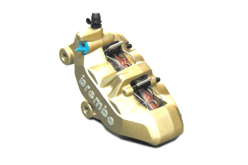 Brembo four-piston calipers left Gold 4POT Casting (casting) type 4PAD type 20.7850.11