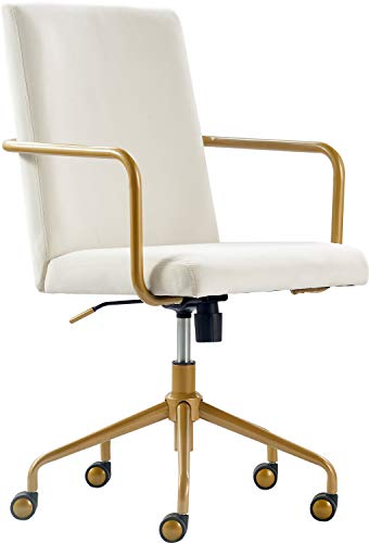Elle Decor CHR10058D Giselle Home Office Chair Cream Cream