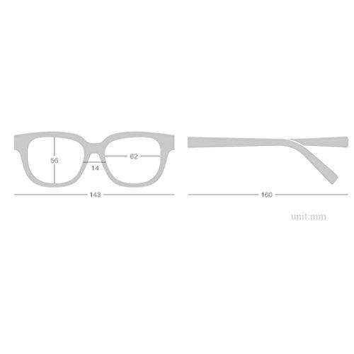 MagiDeal Eye Cat Sunglasses Grande Monture Métallique UV 400 Rose