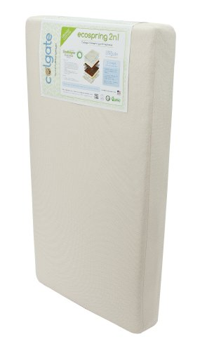 """Colgate Ecospring 2-N-1 Orthopedic Crib and Toddler Mattress 