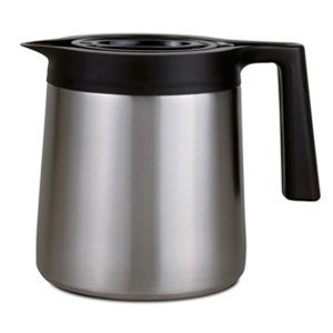 10 Cup Coffee Carafe - BUNN 40200.0002 Thermal Replacement Carafe, 10 Cup, Stainless Steel