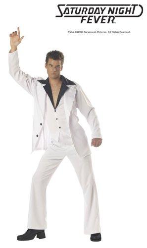Saturday Night Fever Adult Costume - (Saturday Night Fever Adult Costumes)