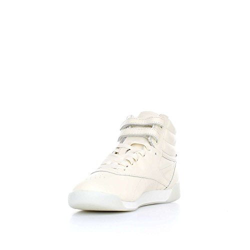 Reebok Freestyle Hi Face 35 Dames Sneakers Wit Wit
