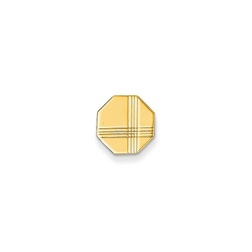 14k Solid Yellow Gold Tie Tac by Mia Diamonds and Co. (Image #3)