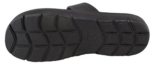 Pali Ladies Fancy Jandal Sandals With Extra Arch Support (7, Black)