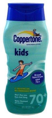 Coppertone Spf#70+ Kids Broad Spectrum Lotion 8oz by Coppertone