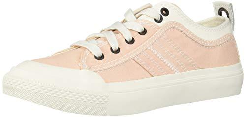 - Diesel Women's S-ASTICO Low LACE W-Sneakers, Star White/Cream tan, 6 M US