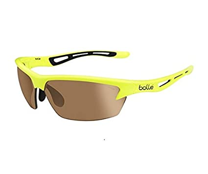 2899981ca Amazon.com: Bolle Bolt Sunglasses, Modulator V3 Golf Oleo AF, Neon ...