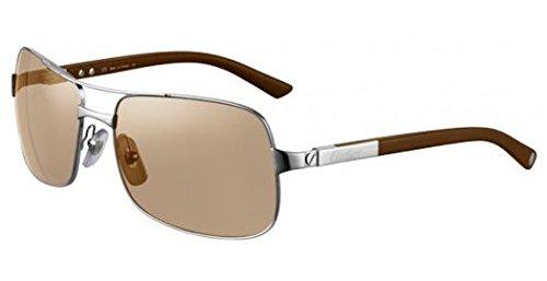 lunettes de soleil cartier neil frb t8200716  Amazon.fr  Vêtements ... 9facc5664e64